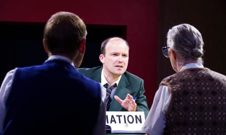 Rory Kinnear as Josef K in the Young Vic's production of The Trial.