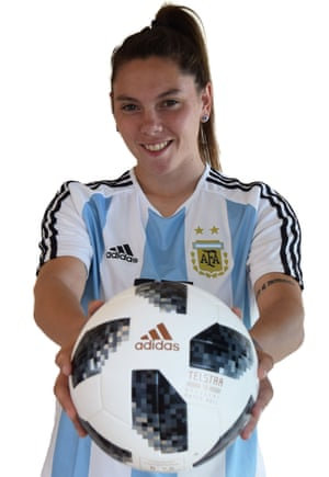 Milagros Menéndez is a player England will have to watch out for when they face Argentina in Le Havre on 14 June.