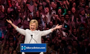 Hillary Clinton ... just has to look serious but not humourless; driven but not bossy; focused but not boring.