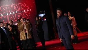 John Boyega 'Star Wars: The Last Jedi' film premiere, Arrivals, Los Angeles