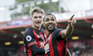 David Brooks (left) and Callum Wilson have been two of Bournemouth's standout players in what has been a fantastic season so far.