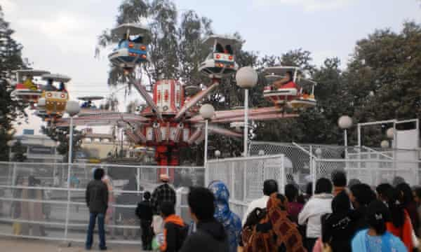 The playground at Gulshan-e-Iqbal park in Lahore