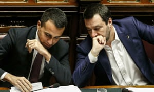Luigi Di Maio and Matteo Salvini