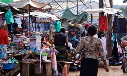 Nakawa Market, Kampala, Uganda