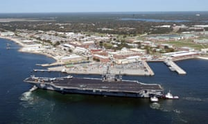The Naval Air Station Pensacola, in Pensacola, Florida. Three people were killed in a shooting at the base.