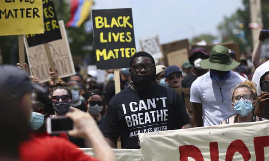 Thousands march in Philadelphia on Saturday.