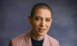 Asia Kate Dillon, non-binary star of Orange Is the New Black and Billions, and one of the talking heads in Visible: Out on Television.