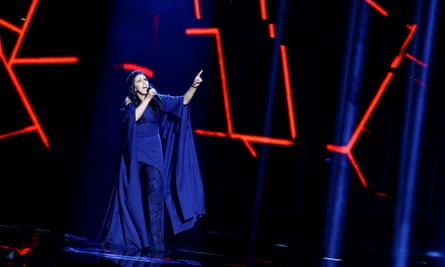 Jamala performs the song 1944.