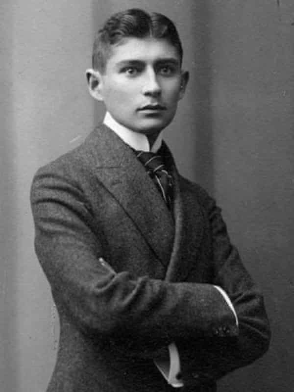 Entrusted his archive with instructions to destroy it … Franz Kafka in 1906.