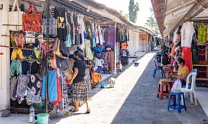 Bali, usually thronging with international tourists, is almost deserted.