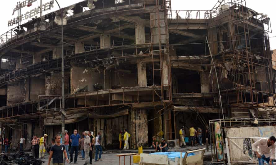 Baghdad, after Isis bomb