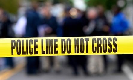 US police tape