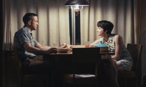 With Ryan Gosling in First Man.