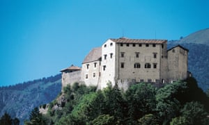 Where eagles dwell: Stenico castle, built in the 13th century.