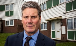 Keir Starmer, in Tunstall.