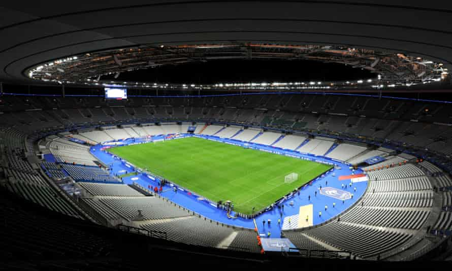 Stade de France, where the opening ceremony for Euro 2016 will be held on 10 June.