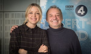 Bob Mortimer and Desert Island Discs host Lauren Laverne.