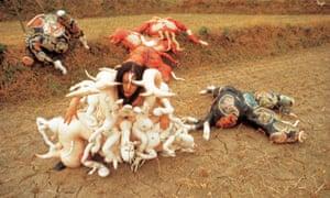 Cravings, 1989 (outdoor performance, Jang Heung, South Korea).