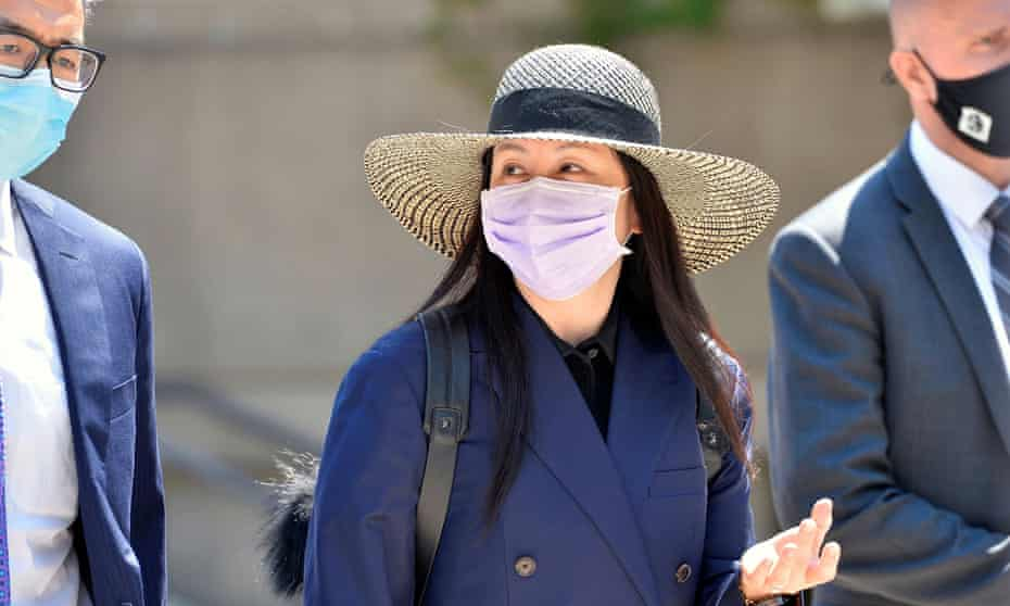 Meng Wanzhou, seen here outside court in Vancouver last month