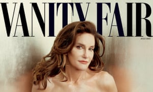 Caitlyn Jenner photographed by Annie Leibovitz for Vanity Fair's July 2015 issue.