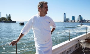 Chef Kerry Heffernan, formerly of New York's Eleven Madison Park, one of the city's finest restaurants, is part of a coalition that is trying to revive oyster populations in the polluted waters around the city.