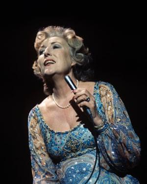 Vera Lynn performing in 1977
