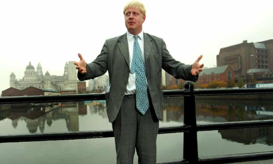 Boris Johnson in Liverpool