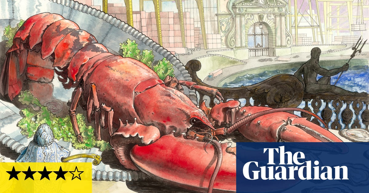 A nightmarish banquet of bling: Pablo Bronstein's Hell in Its Heyday review