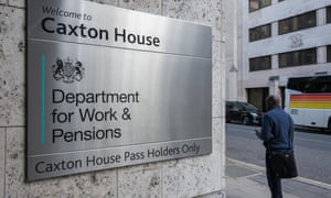 the Department of Work and Pensions.