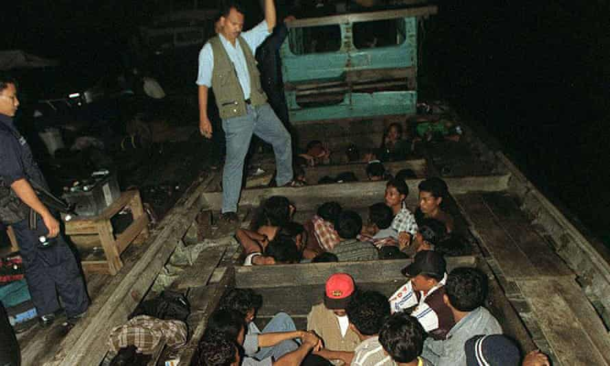 Many Indonesians travel on unsafe boats to work in Malaysia illegally