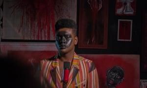 A still from the short film Negrum3.