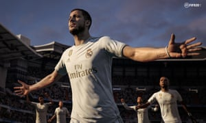 Fifa 20 cover star Eden Hazard