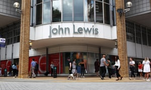 Customers outside the John Lewis store in Kingston