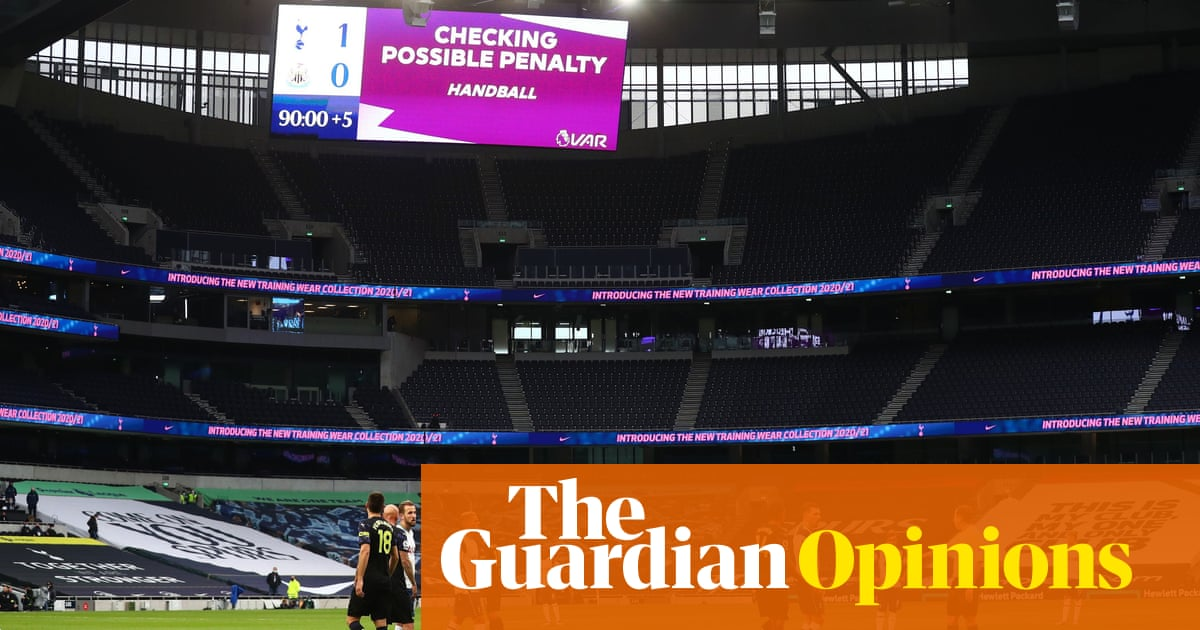 Is it too late to halt football's final descent into a dystopian digital circus? | Barney Ronay