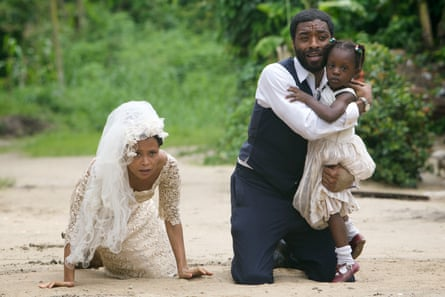 'I was meant to write this story'… Thandie Newton and Chiwetel Ejiofor in Half of a Yellow Sun (2013).