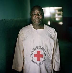 Mahamat Blama, a Cameroon Red Cross volunteer