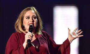Adele in 2016