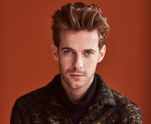 The cat's whiskers: Luke Treadaway wears jacket and roll neck both by Bottega Veneta. Grooming by Paul Donovan at CLM using Bumble & Bumble and MAC Cosmetics; fashion assistant Billie Brand; photographer's assistant Tom Green.