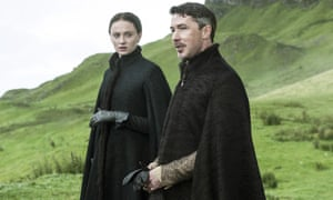 Sansa and Petyr: still in the Vale.