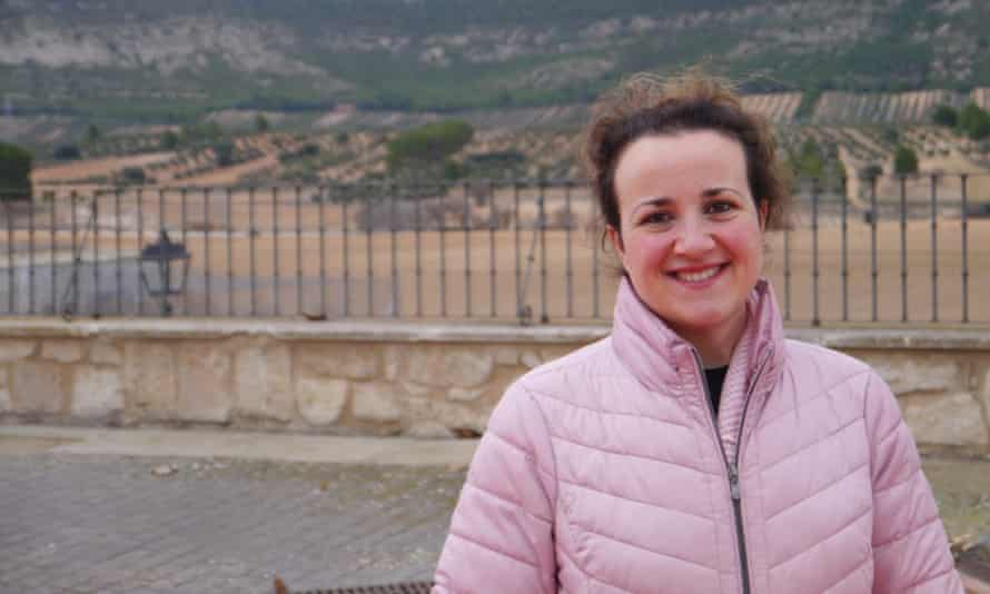 María Angeles Rosado has seen the town of Sayatón empty in the two decades she has lived there.