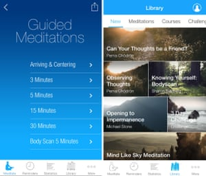 Five of the best meditation apps | Technology | The Guardian