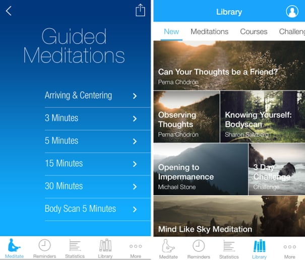 Five of the best meditation apps   Technology   The Guardian