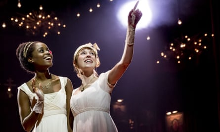 Denee Benton and Brittain Ashford in Natasha, Pierre & the Great Comet of 1812.