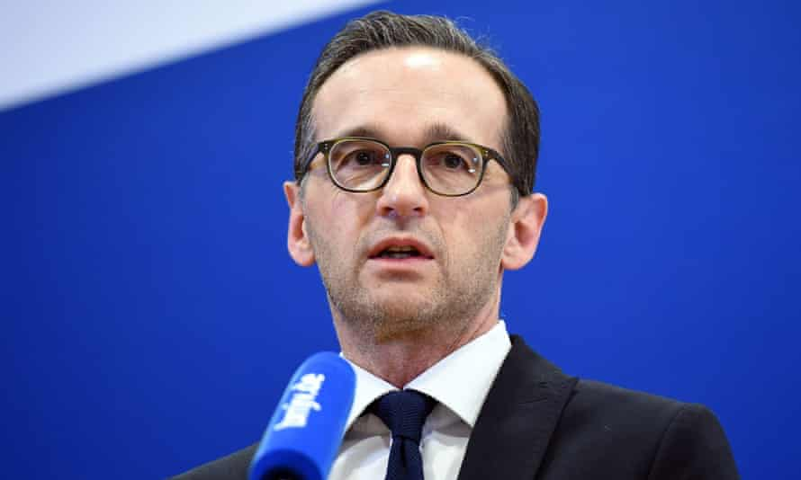 'Nobody can tell me that this was not coordinated or prepared,' said German justice minister Heiko Maas.