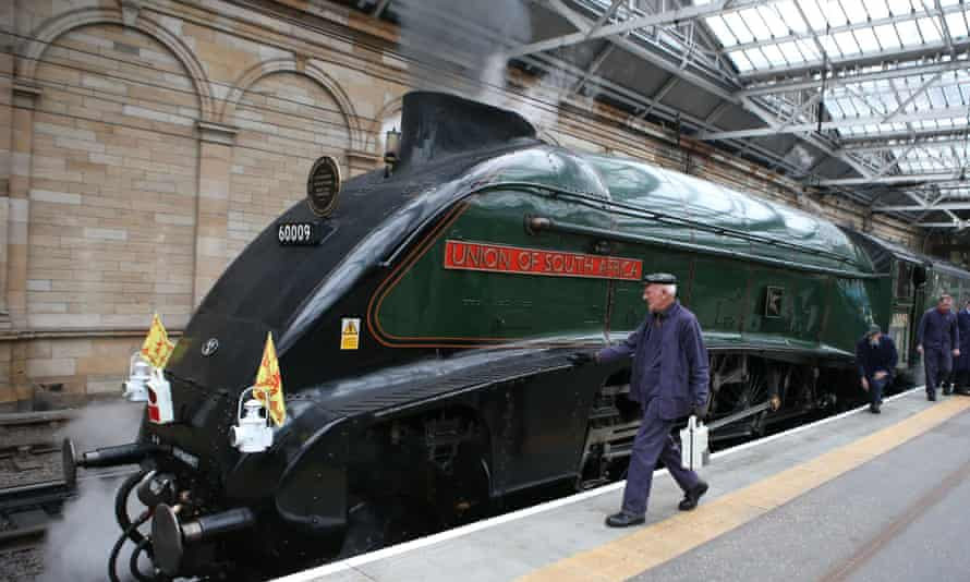 A steam train at Waverley station in 2015: Scotland's creaking rail network needs to be brought into the modern age.