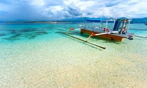 The Gili islands are Lombok's most popular destination.