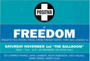 Positiva kicked off its birthday celebrations with a weekend of events at Ministry of Sound, and will follow up with more later in the year, as well as a virtual exhibition about the label