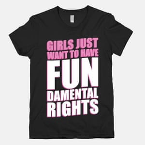 Feminism means having the right to pun badly …