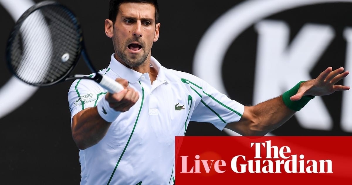 Australian Open 2020: day three - live!