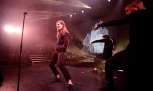 'Even the lights are dancing'... Christine and the Queens at Koko.